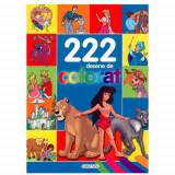 222 Desene de Colorat - Carte de colorat