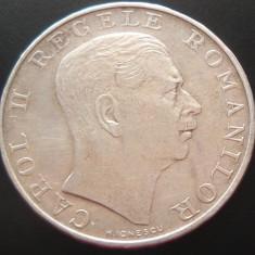 MONEDA ISTORICA ARGINT 250 Lei- ROMANIA anul 1939 *cjaCOD 26 -- Carol al II-lea - Moneda Romania