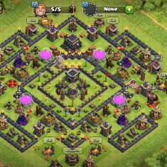 Vand cont CLASH OF CLANS si CLASH ROYAL !!!