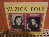 """-Y-MIRCEA FLORIAN / MARCELA SAFTIUC  - MUZICA FOLK - DISC VINIL 7 """""""