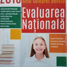 GHID COMPLET EVALUAREA NATIONALA 2015 LIMBA LITERATURA ROMANA a VIII-a Romonti - Carte Teste Nationale