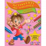 Activitati de Vacanta Ne Jucam si Invatam - Carte de colorat