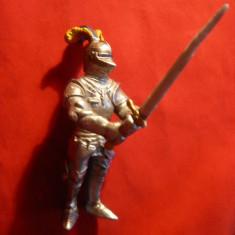 Figurina Cavaler in armura , cu sabie - Schleich 2003 Germania,h=9,5 cm