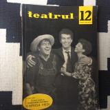 Teatrul revista decembrie nr. 12 anul IX 1964 cultura teatru arta foto anii 60 - Revista culturale
