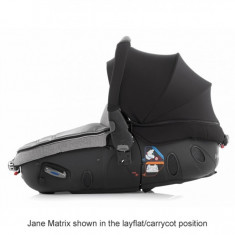 Scaun auto Jane Matrix, (3 in 1): landou, scoica si scaun auto - Scaun auto copii Jane, 0+ -1 (0-18 kg), In sensul directiei de mers
