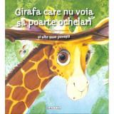 Girafa Care nu Voia sa Poarte Ochelari - Carte de colorat