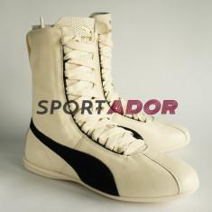 Adidas Puma Eskiva Hi 37, 39EU -piele naturala- originale, factura, garantie - Adidasi dama Puma, Culoare: Alb