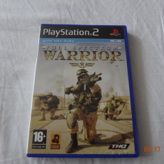 [PS2] Full Spectrum Warrior - joc original Playstation 2 - Jocuri PS2 Altele