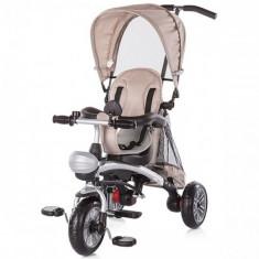 Tricicleta Maverick Beige - Tricicleta copii Chipolino