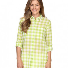 Michael Kors Water Front Button Down Top Fresh Lime