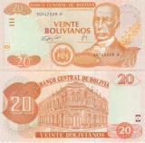 Bolivia 20 Bolivianos 2007 UNC
