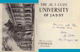 Universitatea Alexandru Ioan Cuza, album jubiliar 1860-1960, in limba engleza