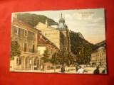 Ilustrata Herculane - Hotel Dacia circulat 1921 Ed.CC Pegulescu, Circulata, Printata