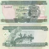 Insulele Solomon 2 Dollars 2011 UNC