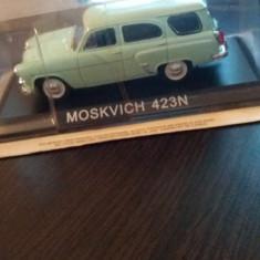 Macheta moskvitch 423n deagostini romania - Macheta auto, 1:43