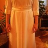 Vind rochie de botez apa marimea 38-40, Culoare: Alb