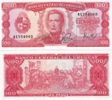 Uruguay 100 Pesos 1967 UNC