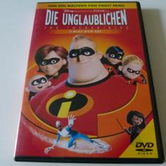 DIe Unglaublichen - 2dvd - Film animatie Altele, Engleza