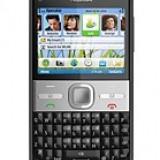 Nokia E5 - Telefon mobil Nokia E5, Negru, Orange
