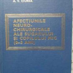 Afectiunile Neuro-chirurgicale Ale Sugarului Si Copilului Mic - C. Arseni Lenke Horvath A. V. Ciurea, 402524 - Carte Chirurgie