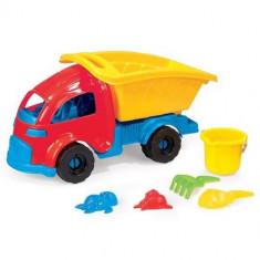Camion cu Accesorii pentru Plaja - Jucarie nisip