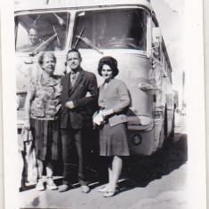 Bnk foto - Autocar ONT Carpati - Saviem ?, Alb-Negru, Transporturi, Romania de la 1950