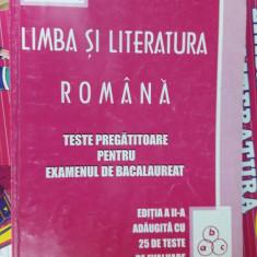 LIMBA SI LITERATURA ROMANA TESTE PREGATITOARE PENTRU BAC - MIHAIESCU - Carte Teste Nationale