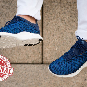 Nike Free Inneva Woven Blue COD: 579916-402 - Produs original, factura, garantie