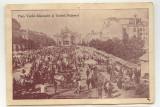Cernauti Piata V. Alecsandri,Teatrul,Palatul Postelor,Telegrafelor,Telefoanelor, Necirculata, Fotografie