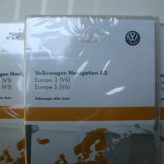 Card SD harti navigator, original VW, Audi, Skoda, Seat - Software GPS