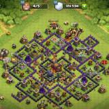 Clash of clans level 104