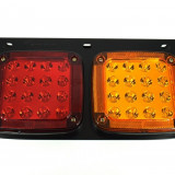 Lampa STOP Remorca TIR Camion 340x195x70x26 SMD12v- 24v PREMIUM AL-250817-3, Universal