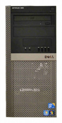 Calculator Dell Optiplex 980 Tower, Intel Core i5 650 3.2 GHz, 4 GB DDR3, 250 GB HDD SATA, DVDRW foto