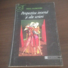 PAVEL FLORENSKI, PERSPECTIVA INVERSA SI ALTE SCRIERI