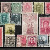 Lot timbre Spania, Stampilat