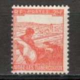 Franta.1945 Campanie impotriva tuberculozei XF.172, Nestampilat