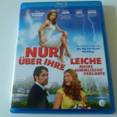 Nur uber ihre leiche - blu - ray - Film comedie Altele, Engleza
