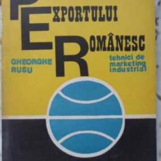 Promovarea Exportului Romanesc. Tehnici De Marketing Industri - Gheorghe Rusu, 402582 - Carte Marketing