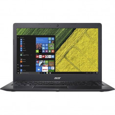 Laptop Acer Swift 1 SF114-31-P4ZQ 14 inch HD Intel Pentium N3710 4GB DDR3 64GB eMMC Windows 10 Black