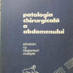 Patologia Chirurgicala A Abdomenului Intrebari Cu Raspunsuri - Eugen Tircoveanu, 402443 - Carte Chirurgie