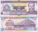 Honduras 2 Lempiras 01.03.2012 UNC