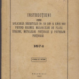 Decretul 210 din 14 iunie 1960 Banca de stat a RPR,  UZ INTERN, Bucuresti 1960