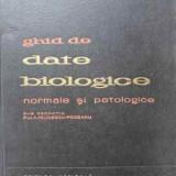 Ghid De Date Biologice Normale Si Patologice - Sub Redactia A. Paunescu-podeanu, 402580