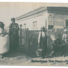 472 - DOBROGEA, Ethnics - old postcard, real PHOTO - used - 1918 - Carte Postala Dobrogea 1904-1918, Circulata, Fotografie