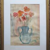 Ulcica cu flori - semnat  M.W.Arnold