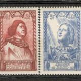 Franta.1946 Personalitati din secolul XV XF.184, Nestampilat