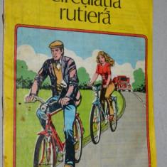 Brosura RSR - Bicicleta si circulatia rutiera - Carte Epoca de aur