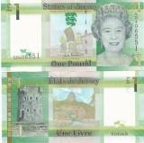 Jersey 1 Pound 2010 UNC
