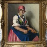 Tablou Szasz Istvan - Pictor roman, Portrete, Ulei, Realism