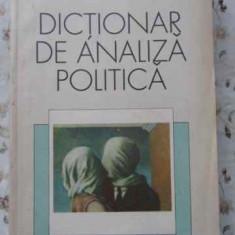 Dictionar De Analiza Politica - J.c. Plano, R.e. Riggs, H.s. Robin, 402638 - Carte Politica
